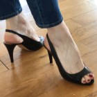 Peep-Toe Pumps ISABEL MARANT Black