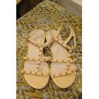 Sandales plates  COSMOPARIS Rose, fuschia, vieux rose