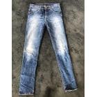 Jeans slim AQUAVERDE Bleu, bleu marine, bleu turquoise