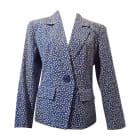 Blazer YVES SAINT LAURENT Blue, navy, turquoise
