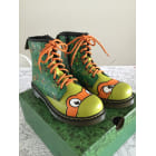 Ankle Boots DR. MARTENS Green