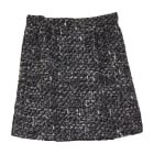 Jupe courte DOLCE & GABBANA Gris, anthracite