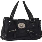 Leather Handbag KENZO Black