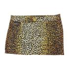 Mini Skirt DOLCE & GABBANA Léopard