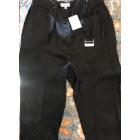 Pantalon large CLAUDIE PIERLOT Noir imprimé