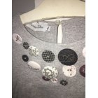 Top, T-shirt BABY DIOR Gray, charcoal