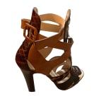Sandales à talons CHRISTIAN LOUBOUTIN Multicouleur
