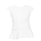 Tops, T-Shirt BA&SH Weiß, elfenbeinfarben