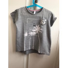 Top, Tee-shirt LULU CASTAGNETTE Gris, anthracite