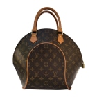 Leather Handbag LOUIS VUITTON Brown