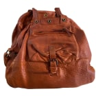 Borsa XL in pelle JEROME DREYFUSS Beige, cammello