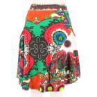 Midi Skirt DESIGUAL Multicolor