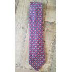 Cravate ALAIN FIGARET Rouge, bordeaux