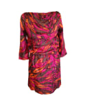 Midi-Kleid ANTIK BATIK Mehrfarbig