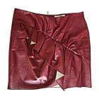 Mini Skirt ISABEL MARANT ETOILE Red, burgundy