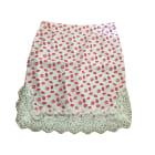 Mini Skirt CLAUDIE PIERLOT White, off-white, ecru