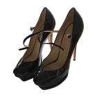 Peep-Toe Pumps YVES SAINT LAURENT Black