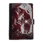 Wallet LOUIS VUITTON Red, burgundy