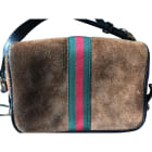 Leather Shoulder Bag GUCCI Brown