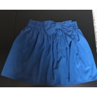 Jupe courte PULL & BEAR Bleu, bleu marine, bleu turquoise
