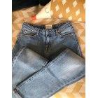 Jeans largo, boyfriend SÉZANE Blu, blu navy, turchese