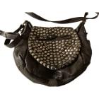 Leather Shoulder Bag ISABEL MARANT Brown