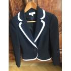 Blazer, veste tailleur BLEU 123 Noir