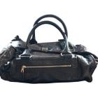 Leather Handbag BALENCIAGA Brown