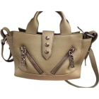 Leather Handbag KENZO Khaki