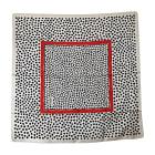 Tuch, Schal YVES SAINT LAURENT Noir/Blanc/Rouge