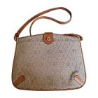 Non-Leather Shoulder Bag DIOR Beige, camel