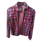 Shirt ABERCROMBIE & FITCH Red, burgundy