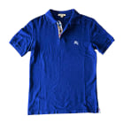 Polo BURBERRY Blue, navy, turquoise