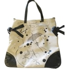 Non-Leather Handbag KENZO Beige, camel