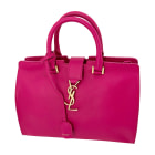 Leather Handbag SAINT LAURENT Y Pink, fuchsia, light pink
