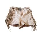Shorts MAJE Beige, camel