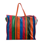 Leather Oversize Bag BALENCIAGA Bazar Multicolor