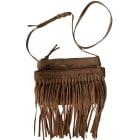 Leather Shoulder Bag ZADIG & VOLTAIRE Beige, camel