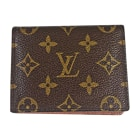 Porte-cartes LOUIS VUITTON Marron