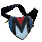 Leather Shoulder Bag MAJE Black