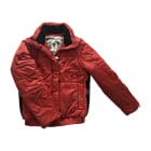 Down Jacket CHANEL Red, burgundy