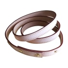 Skinny Belt LOUIS VUITTON Beige, camel