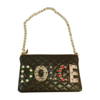Leather Clutch DOLCE & GABBANA Black