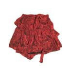 Mini Skirt IRO Red, burgundy