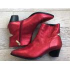 Bottines & low boots à talons BOCAGE Rouge