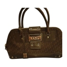 Non-Leather Handbag DIOR Brown