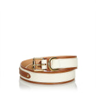 Ceinture large LOUIS VUITTON White
