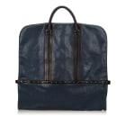 Leather Oversize Bag GIVENCHY Blue