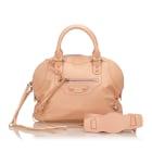 Leather Handbag BALENCIAGA Pink