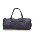 Leather Handbag BALENCIAGA Blue